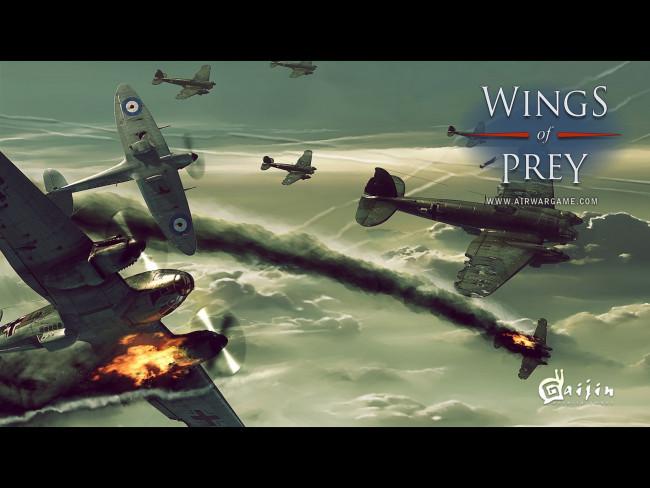 Wings of Prey (Крылатые хищники) обои для рабочего стола 1600x1200 wings, o